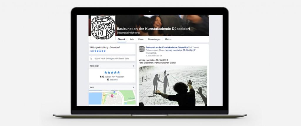 Broekman+Partner Baukunst Kunstakademie Düsseldorf | Digitale Kommunikation
