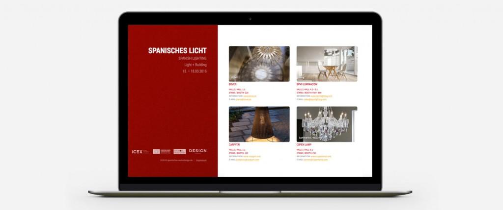Broekman+Partner Spanish Design Website