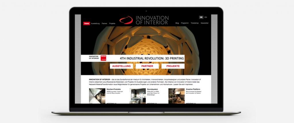 Broekman+Partner Innovation of Interior | Website