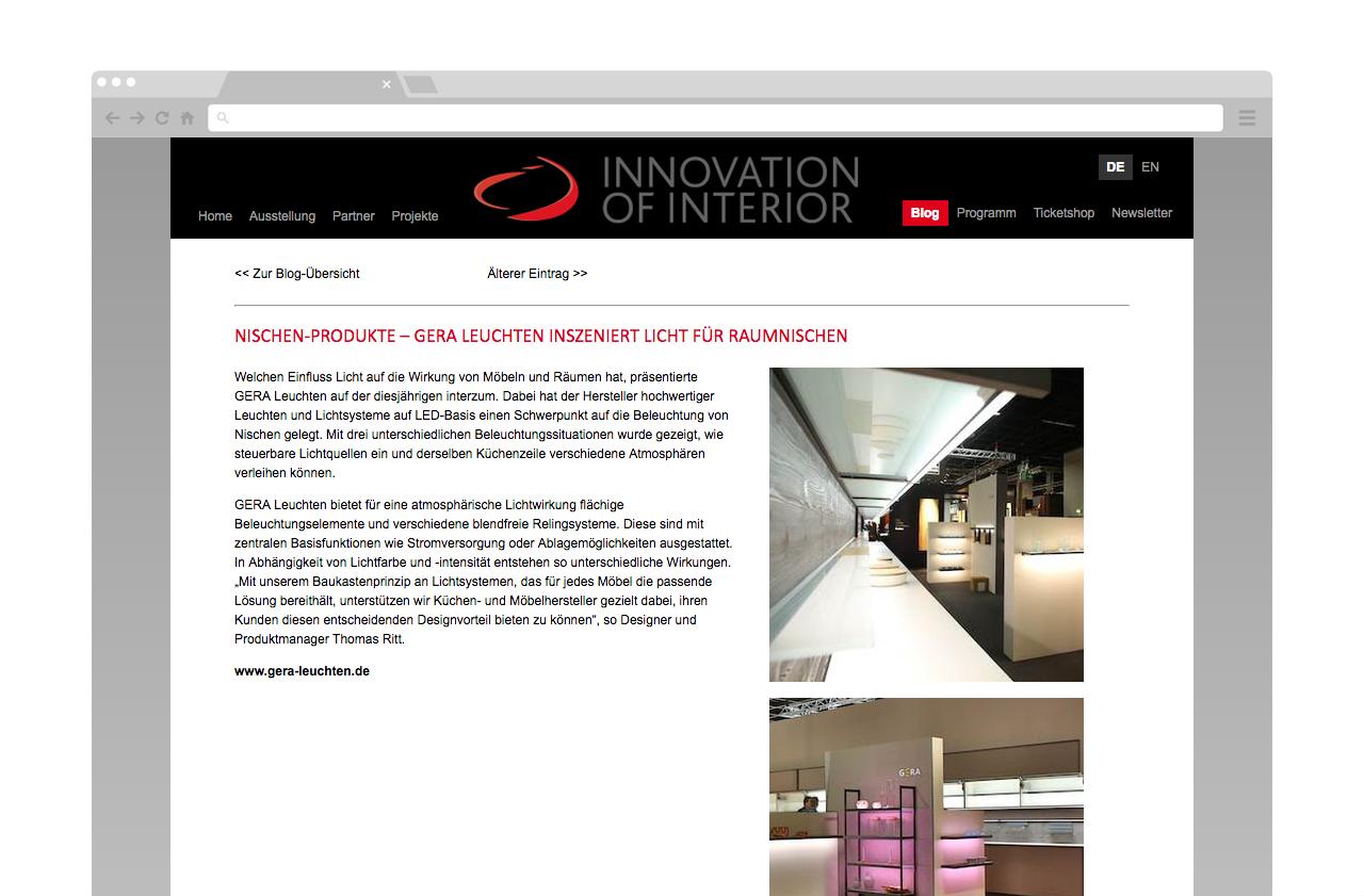 Broekman+Partner — Innovation of Interior | Website